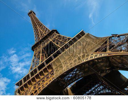 Eiffel Tower In Detail