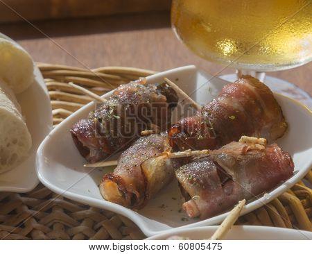 Bacon Date Tapas