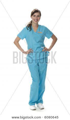 Pretty Healthcare Worker