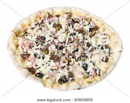 Sliced Pizza Cassoulet