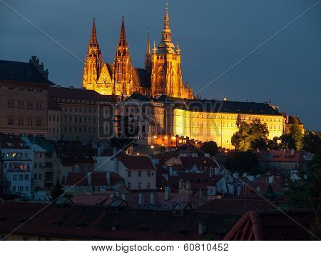 Hradcany Castle And St. Vitus Cathedral