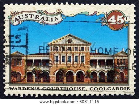 Postage Stamp Australia 1992 Wardens Courthouse, Coolgardie