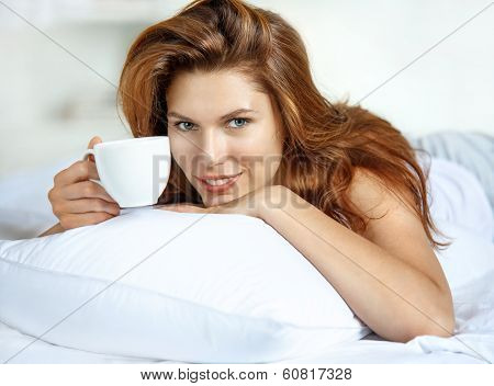 Cup of tea in bed