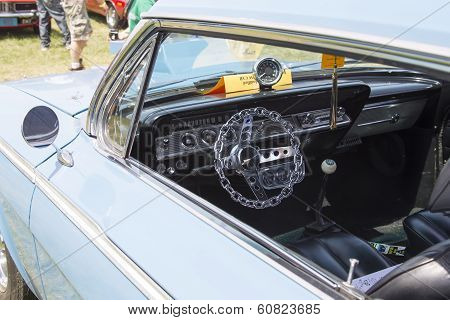 1962 Chevy 2 Door Impala Interior View
