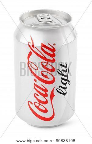 Aluminum Can Of Coca-cola Light