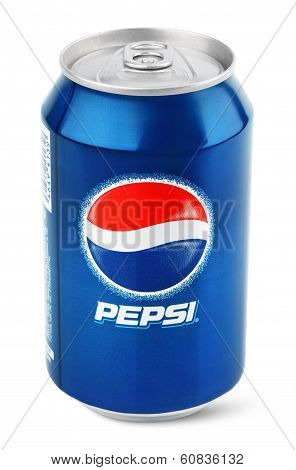 Aluminum Can Of Pepsi Cola
