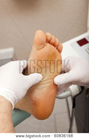 Relax With A Foot Massage