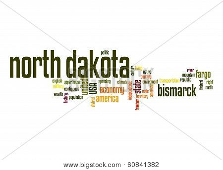 North Dakota Word Cloud