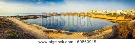 Ancient Phoenician Port Of Mahdia