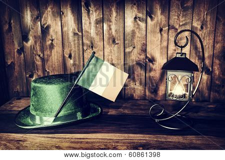 Saint Patrick's Night By Lantern Light