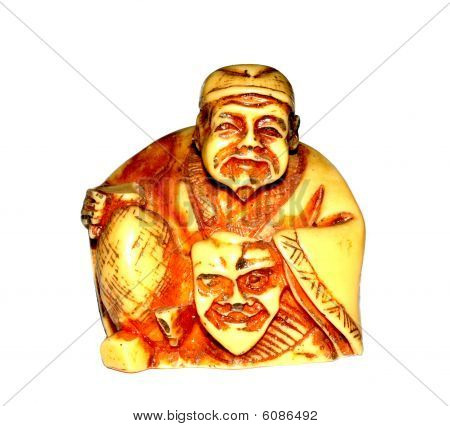japanese netsuke statue
