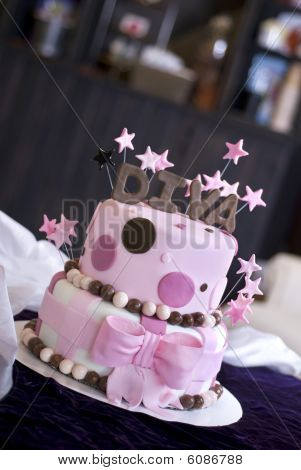 Fun Diva Cake in Bakery