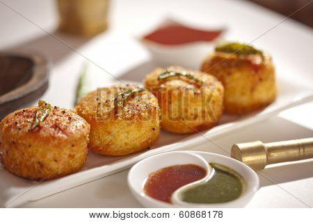 Fried Dhokla