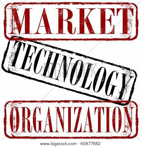 Market Technology Organization Stamp
