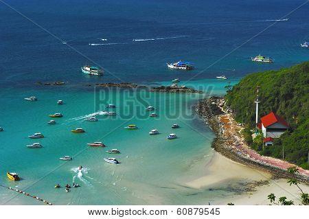 Top View At Koh Lan
