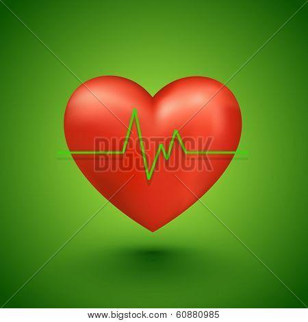 Healthy heart beat