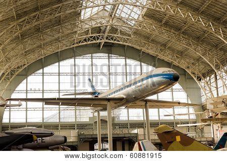 Caravelle Vintage Airplane