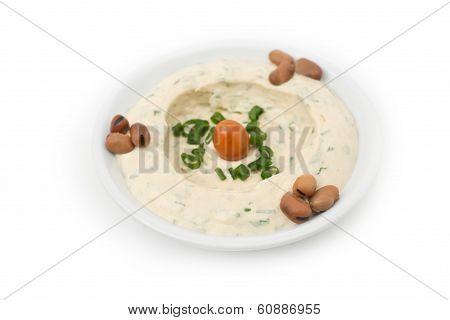 Hommos Plate - Lebanese Cuisine