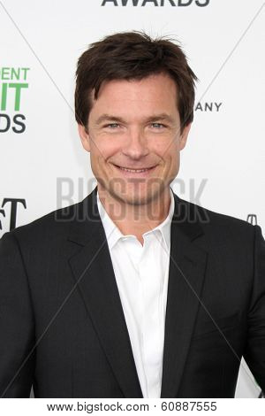 LOS ANGELES - MAR 1:  Jason Bateman at the Film Independent Spirit Awards at Tent on the Beach on March 1, 2014 in Santa Monica, CA