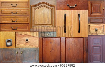 Collection Of Old Drawers