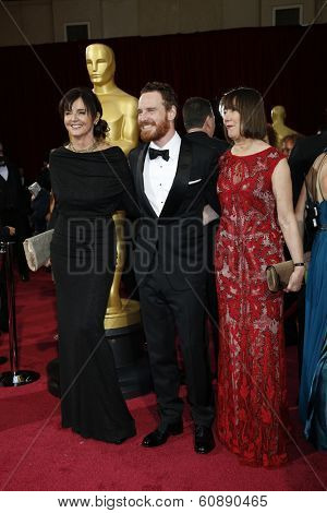 LOS ANGELES - MAR 2:  Michael Fassbender at the 86th Academy Awards at Dolby Theater, Hollywood & Highland on March 2, 2014 in Los Angeles, CA
