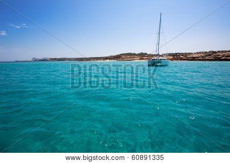 Comte Conta Cala in Sant Josep of Ibiza at balearic islands