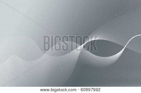 Abstract Wavy Lines Graphic