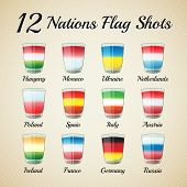 Nations Flag Shots