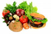picture of portobello mushroom  - Ingredients  - JPG