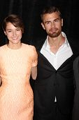 LOS ANGELES - FEB 28:  Shailene Woodley, Theo James at the 2014 Publicist Luncheon at Beverly Wilshi