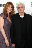 LOS ANGELES - MAR 1:  Laura Dern, Bruce Dern at the Film Independent Spirit Awards at Tent on the Be