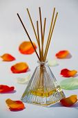 picture of diffusion  - A bottle of aroma diffuser for room - JPG