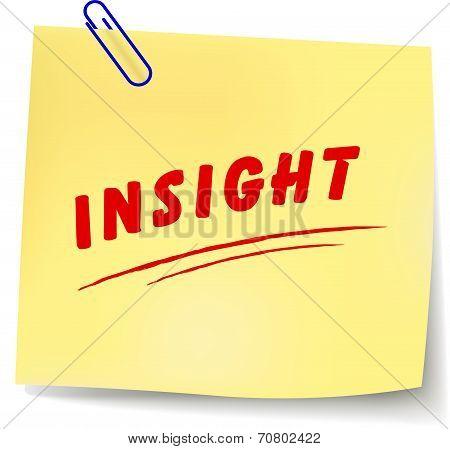 Insight Message