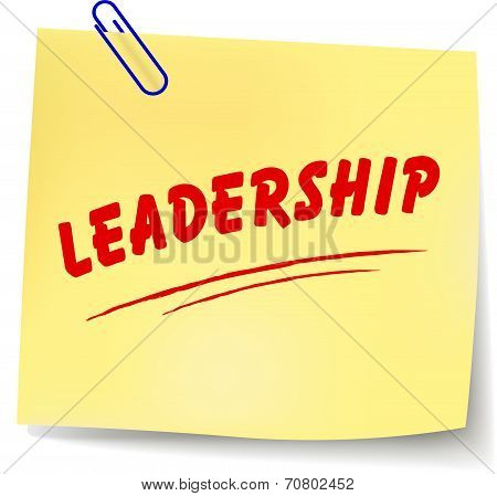 Leadership Message