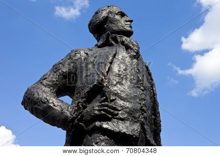 Thomas Jefferson Statue In Paris