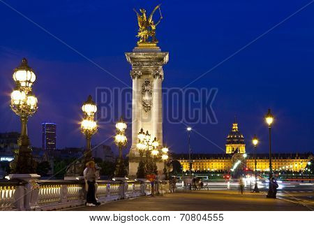 View On Pont Alexandre Iii