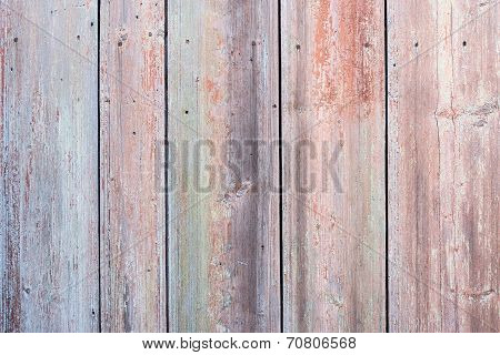 Surface Of Old Wooden Boards