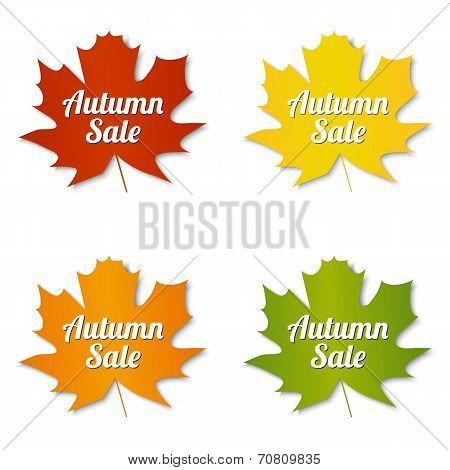 Autumn Sale Labels