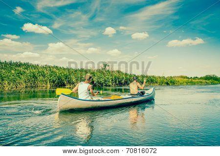 Guys In A Canoe