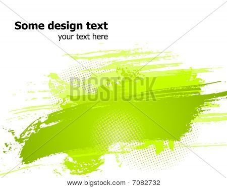 Green abstract vector illustration