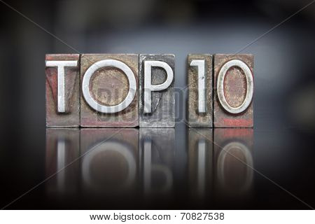 Top 10 Letterpress