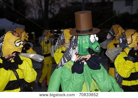 Basel (switzerland) - Carnival 2013