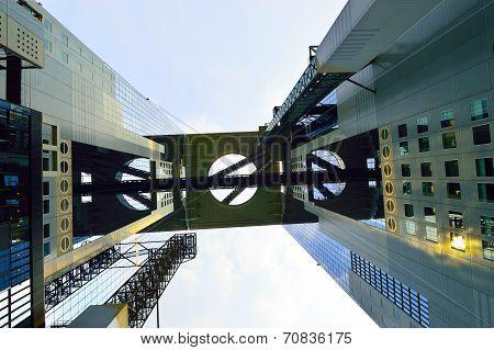 The Umeda Sky Building In The Umeda District Of Osaka, Japan