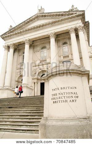 Tate Britain Portico