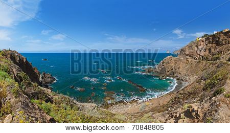 Coast In Tenerife Island - Canary Spain