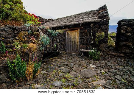 Abandoned Houses In El Hierro Island