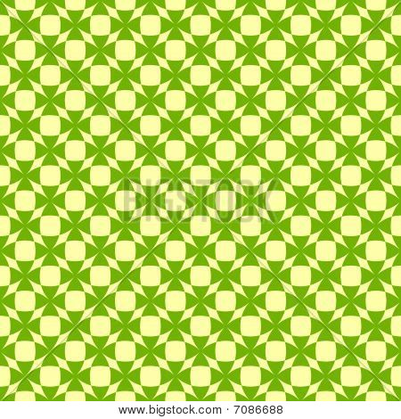 Seamless  green pattern with shamrocks