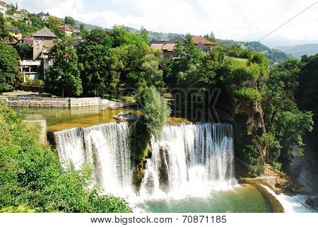 Jajce Waterfall