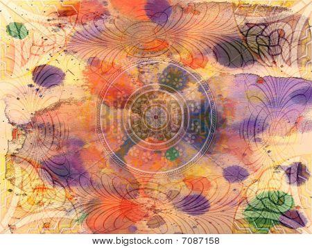 Background - Grunge - Floral