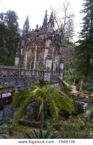 Fragment Of Palace Of Quinta Da Regaleira